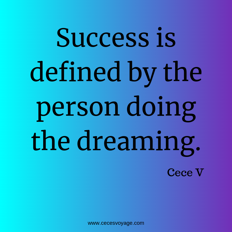 Success is defined by
